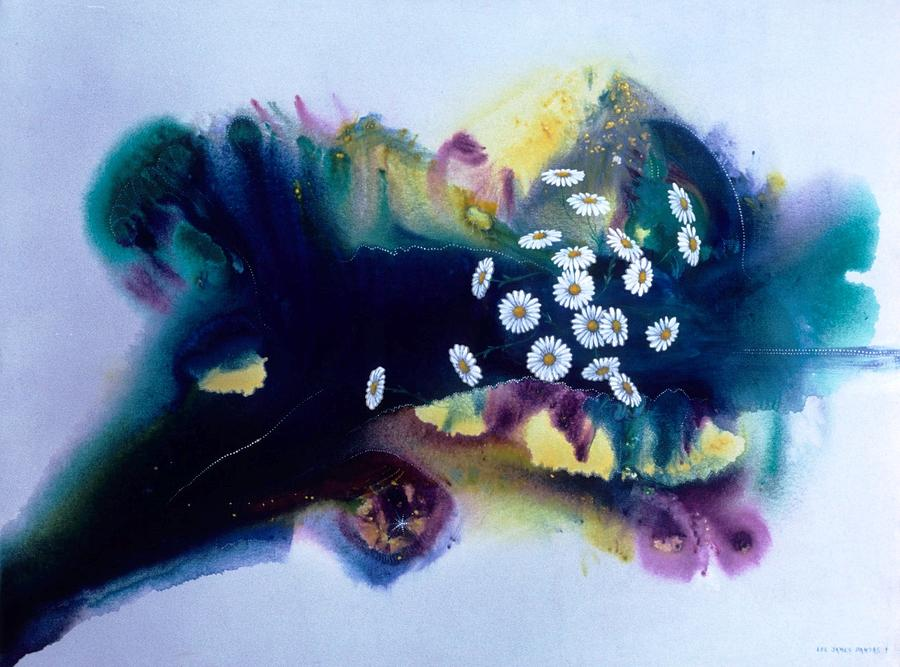 Spiritual Painting - Solar Wind by Lee Pantas