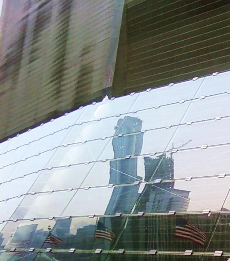 Chicago Photograph - Soldier Field Reflection by Anna Villarreal Garbis