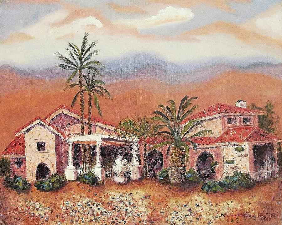 Arizona Painting - Someday by Suzanne  Marie Leclair