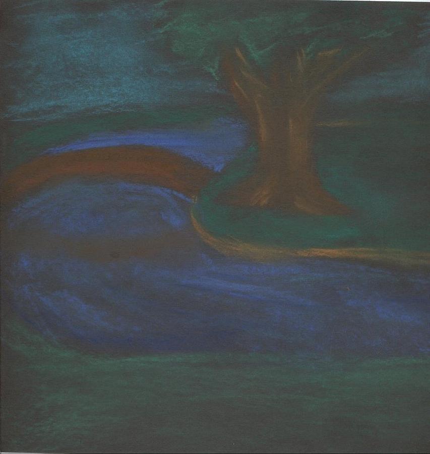 Dark Pastel - Somewhere At Night by Alexandra Mallory