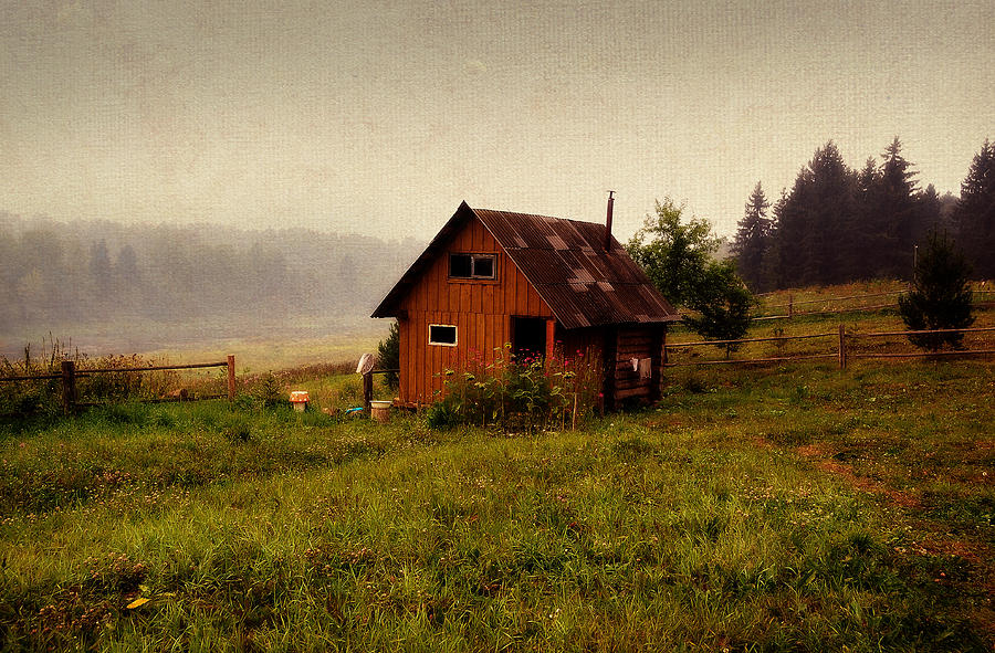 Russia Photograph - Somewhere In The Countryside. Russia by Jenny Rainbow