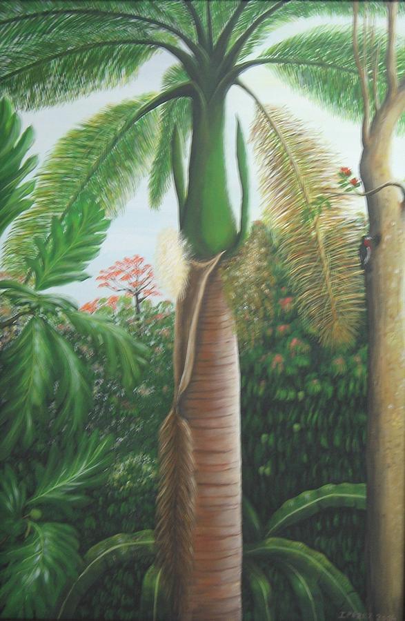 Palma De Puerto Rico Painting - Sonrisa by Toyo Perez