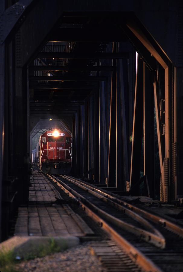Trains Photograph - Soo Line by Susan  Benson