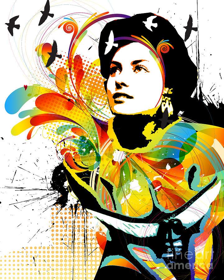 Nostalgic Seduction Digital Art - Soul Explosion I by Chris Andruskiewicz