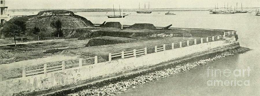 South Battery Seawall Photograph