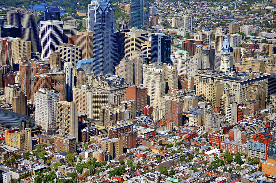 Philadelphia Photograph - South Broad Street Philadelphia by Duncan Pearson