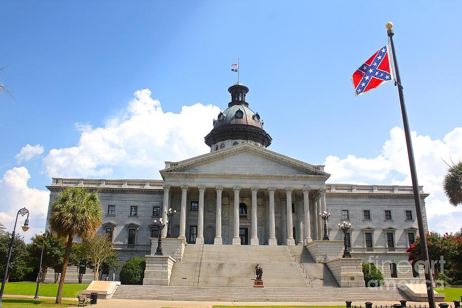 Columbia South Carolina Photograph South Carolina State House June