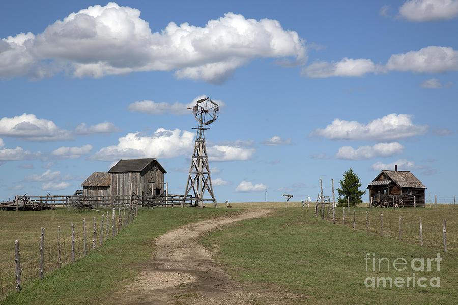 2009 Photograph - South Dakota: Windmill by Granger