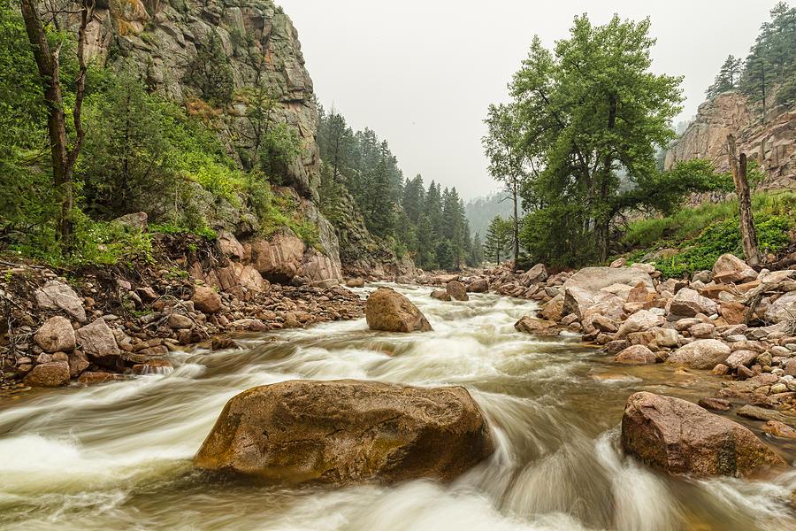 South St Vrain Canyon Boulder County Colorado Photograph