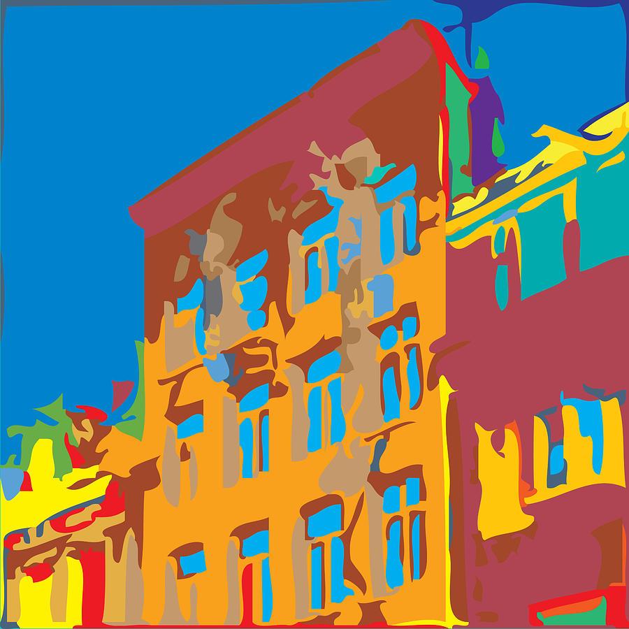 South Street Digital Art - South Street by Kevin  Sherf
