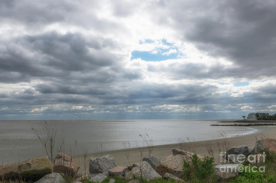 Southern Sunshine Over Breach Inlet Photograph