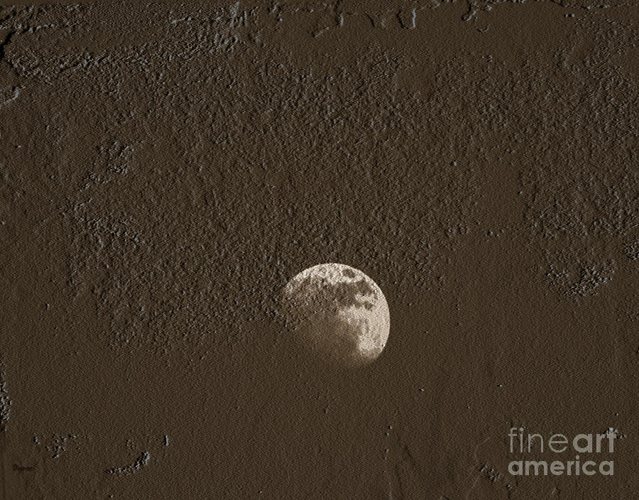 Space Photograph - Space Dirt  by Steven  Digman