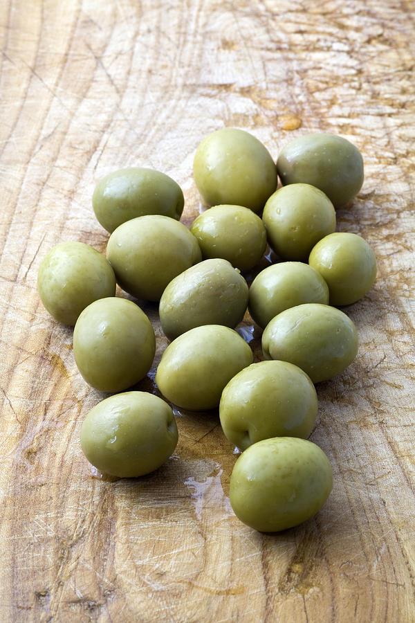 Spanish Manzanilla Olives Photograph