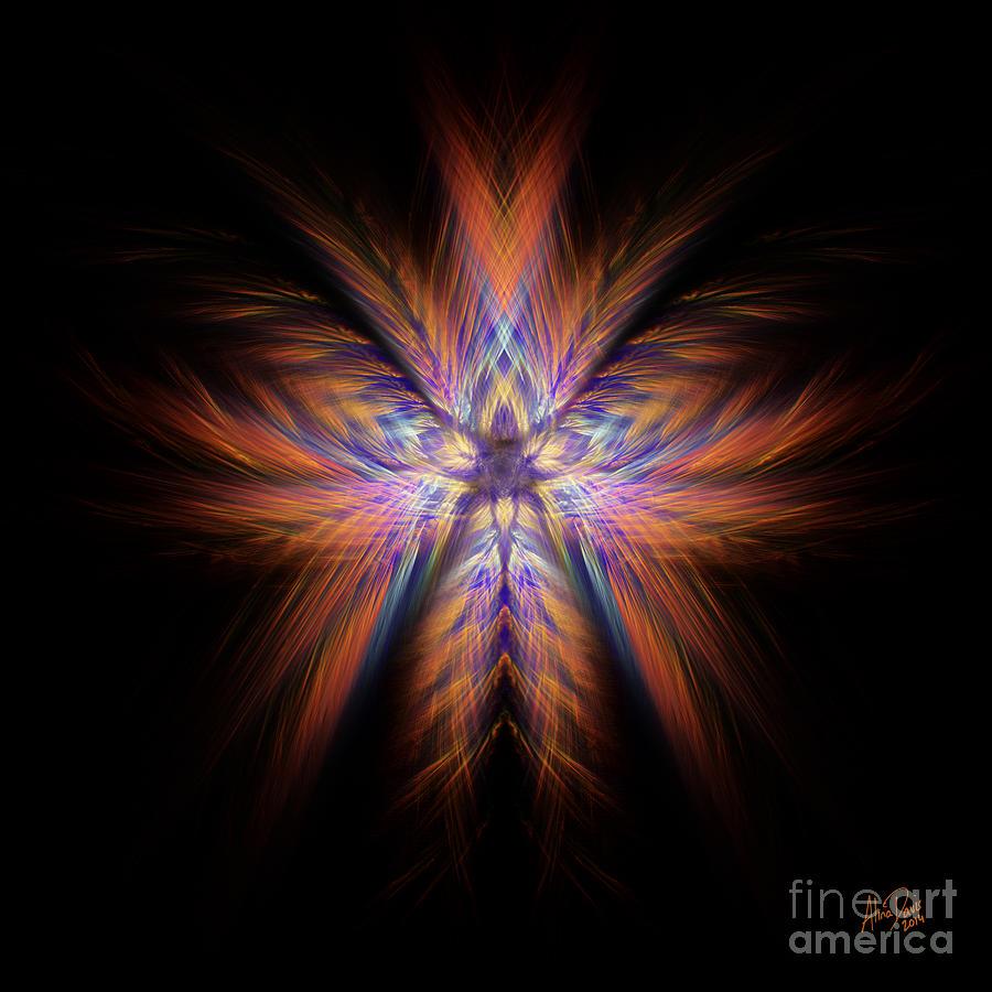 Colour Digital Art - Spectra by Alina Davis
