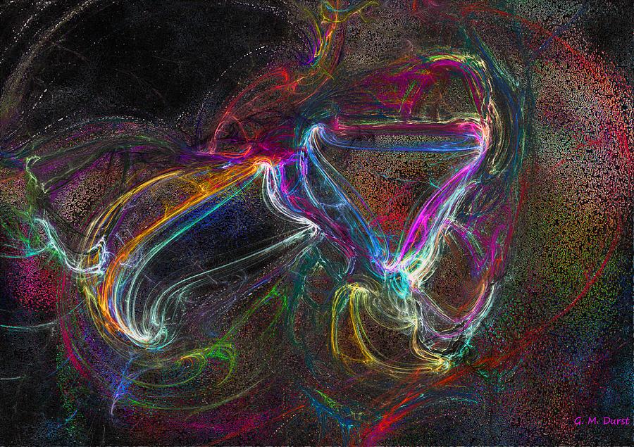 Spell Bound Digital Art