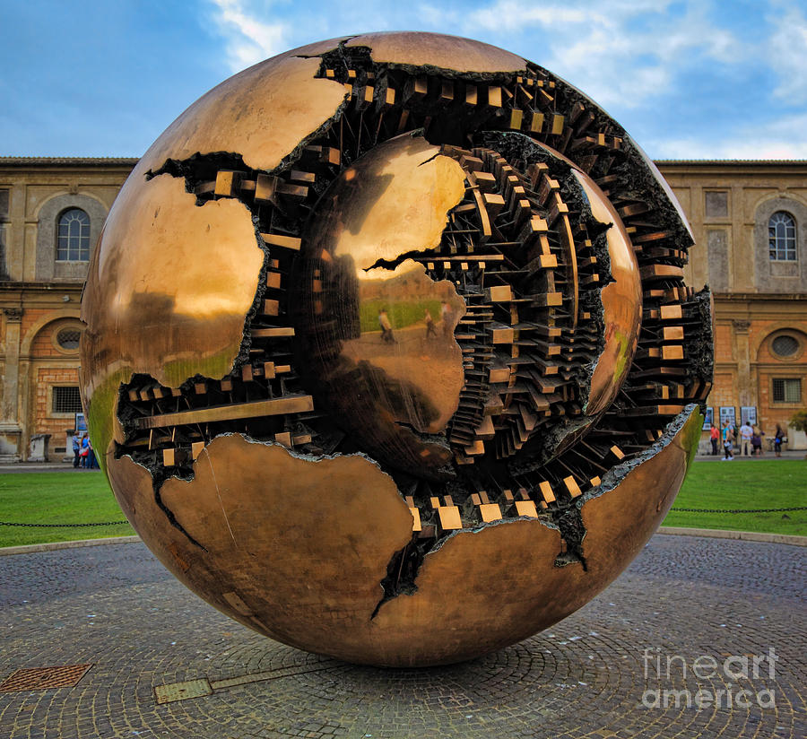 Europe Photograph - Sphere Within Sphere by Inge Johnsson
