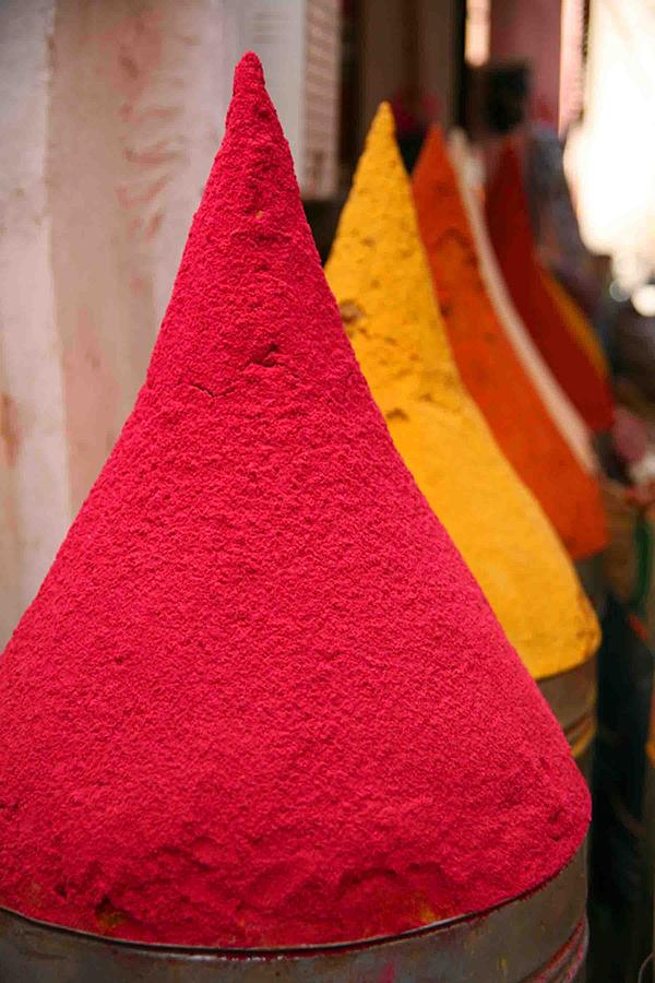 Spices Photograph - Spice Souk by Pauline Cutler