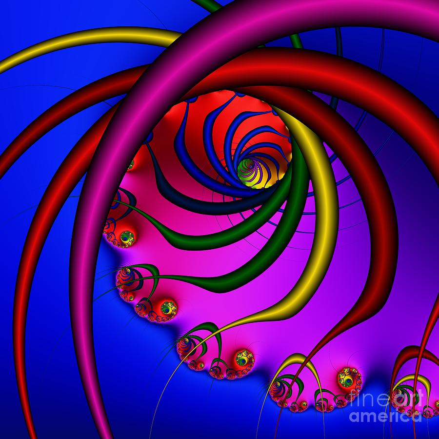 Spiral 216 Digital Art