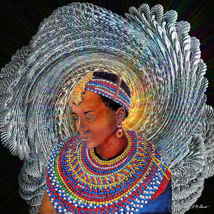 Africa Mixed Media - Spirit Of Africa by Michael Durst