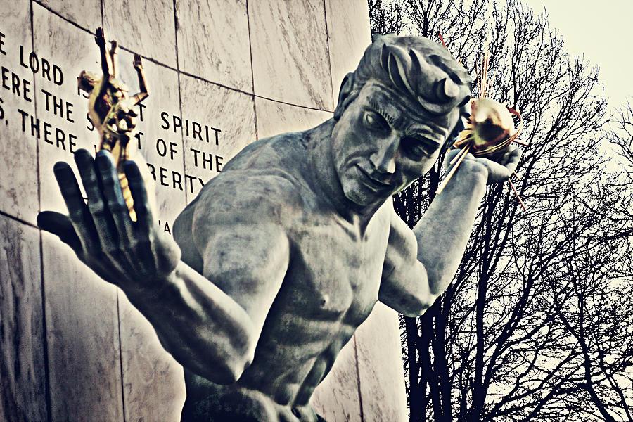 Detroit Photograph - Spirit Of Detroit by Alanna Pfeffer