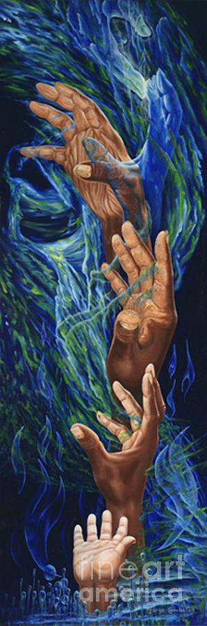 Spiritual Bridge Painting