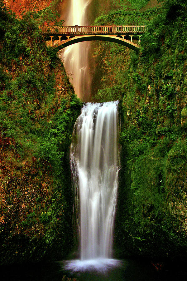 Spiritual Photograph - Spiritual Falls by Scott Mahon