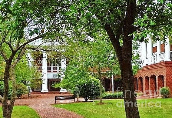 Spotsylvania Court House  Photograph - Spotsylvania Court House by Diana Chason