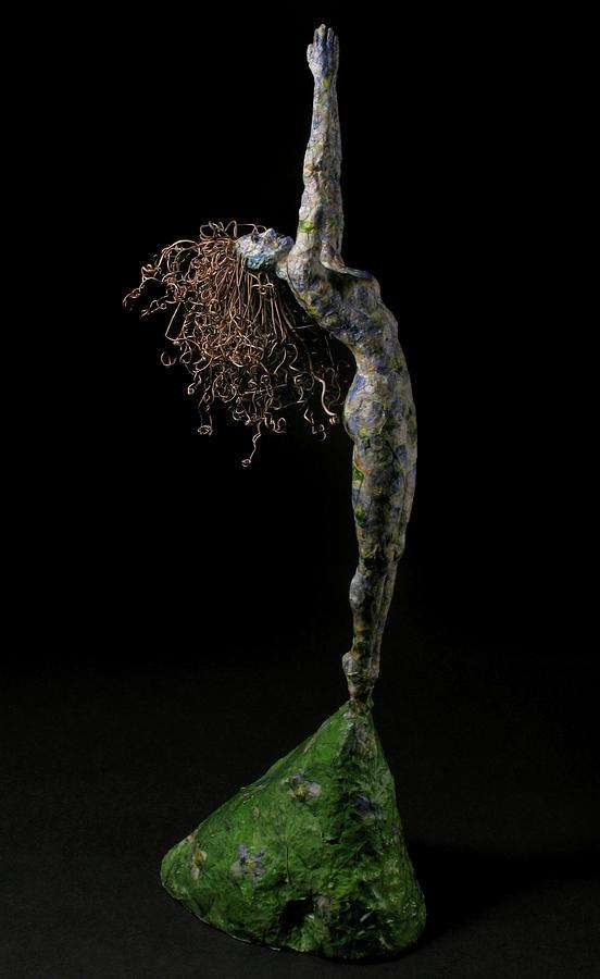 Art Sculpture - Spring A Sculpture By Adam Long by Adam Long