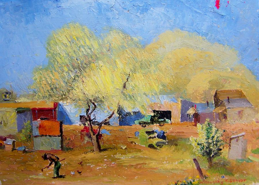 Spring Painting - Spring Is For Everyone by Willoughby  Senior
