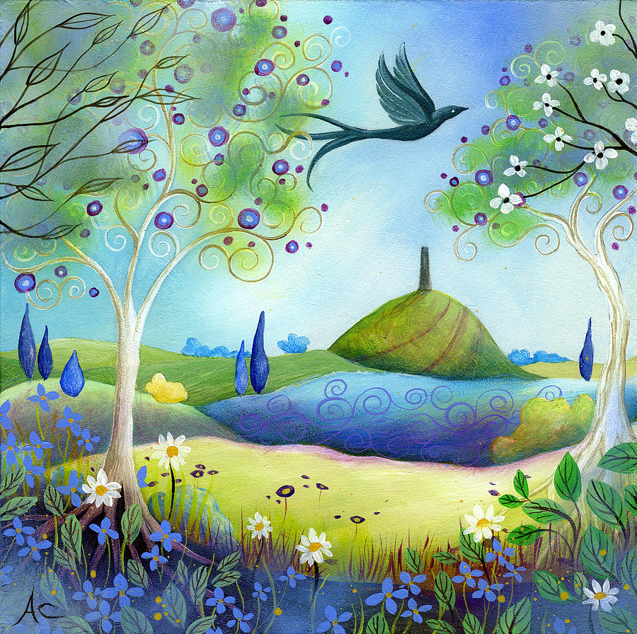Spring Painting - Spring Light by Amanda Clark