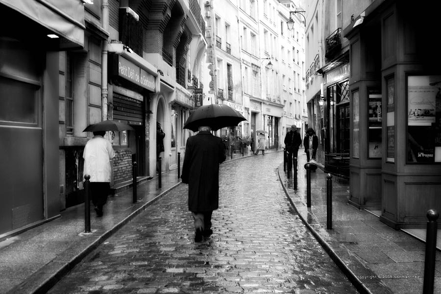 Elderly Photograph - Spring Time In Paris by Obi Martinez