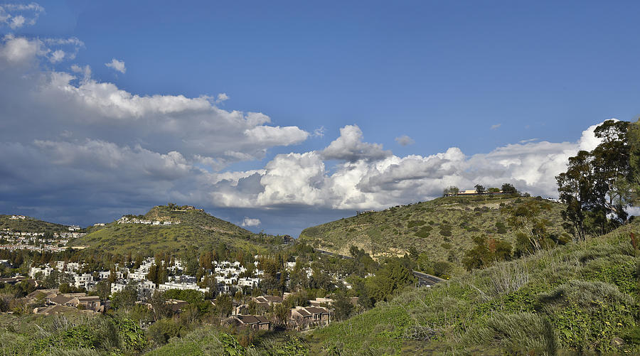 Springtime Over The Orange County Hills Photograph By