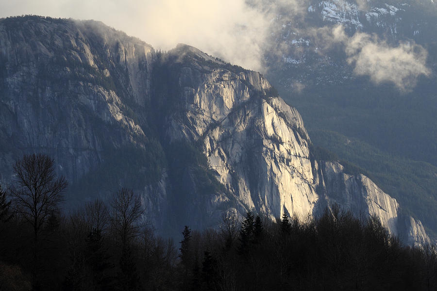 Squamish Photograph - Squamish Chief Monolith  by Pierre Leclerc Photography