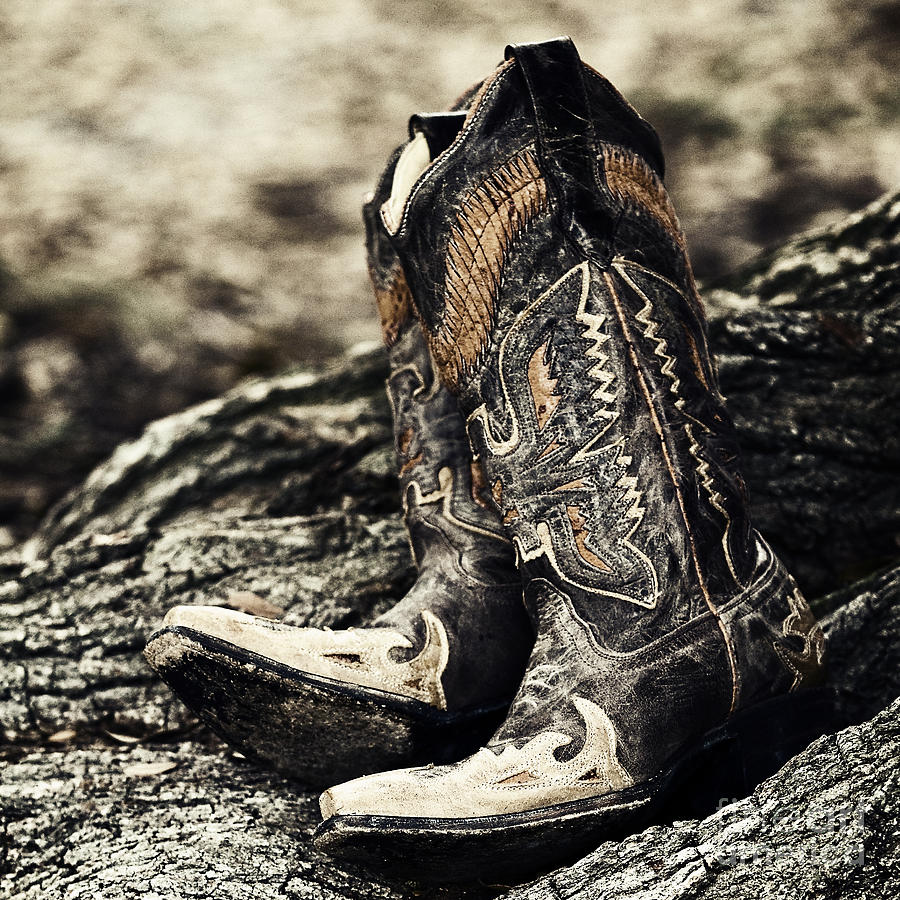 Boots Photograph - Square Toes by Scott Pellegrin