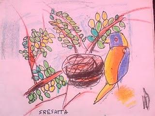 Drawing Painting - SR2 by Sreshita