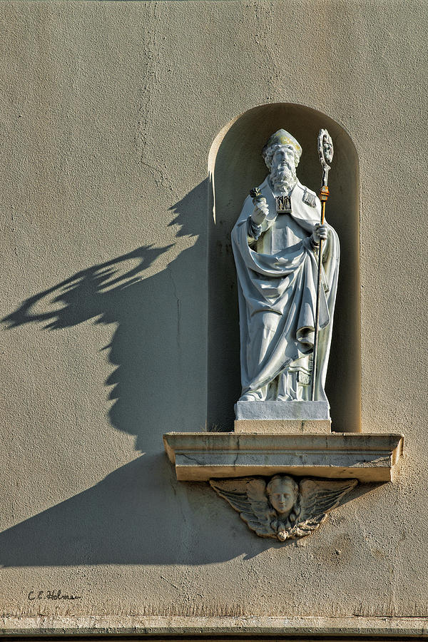 Saint Augustine Photograph - St. Augustine Of Hippo by Christopher Holmes