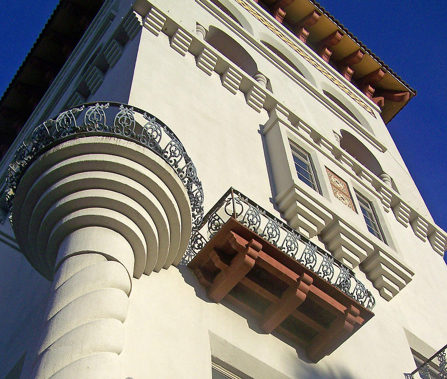 Old World Photograph - St. Augustine Spanish Colonial Ornate by Patricia Taylor