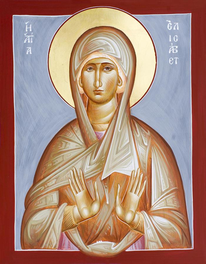 St Elizabeth Painting - St Elizabeth by Julia Bridget Hayes