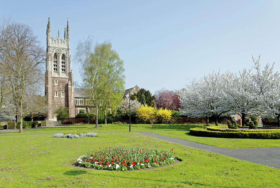 St Peter S Church From Stapenhill Gardens Photograph By