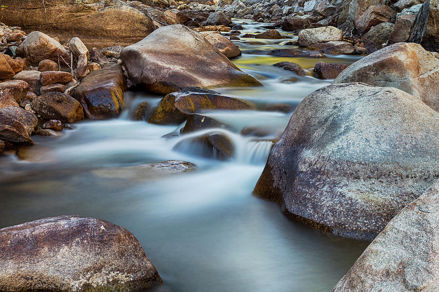 St Vrain Streaming Photograph