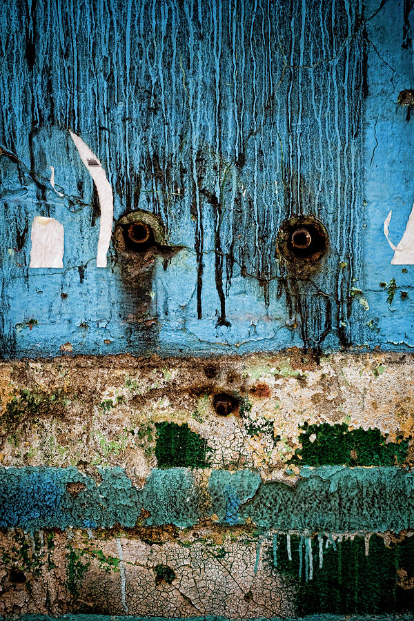 Wall Photograph - Stained And Weary by Michelle Sheppard