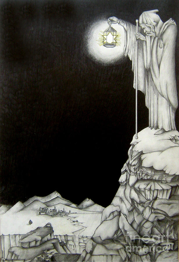 Heaven Drawing - Stairway To Heaven by Patrice Torrillo