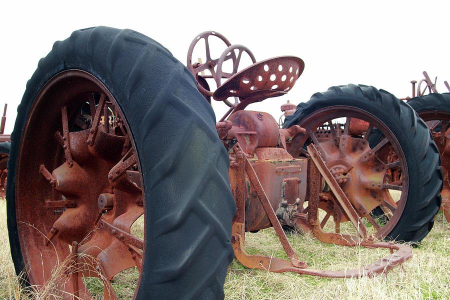 Tractors Photograph - Standing Still by Joy Tudor