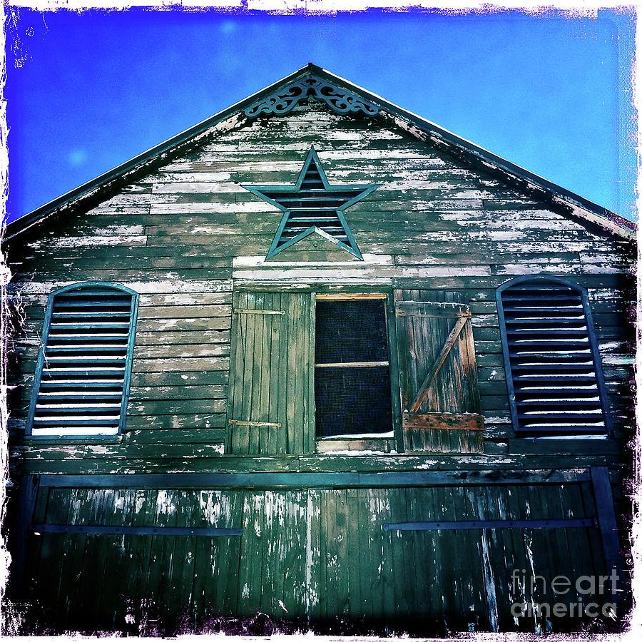 Star Barn Photograph - Star Barn I by Kevyn Bashore