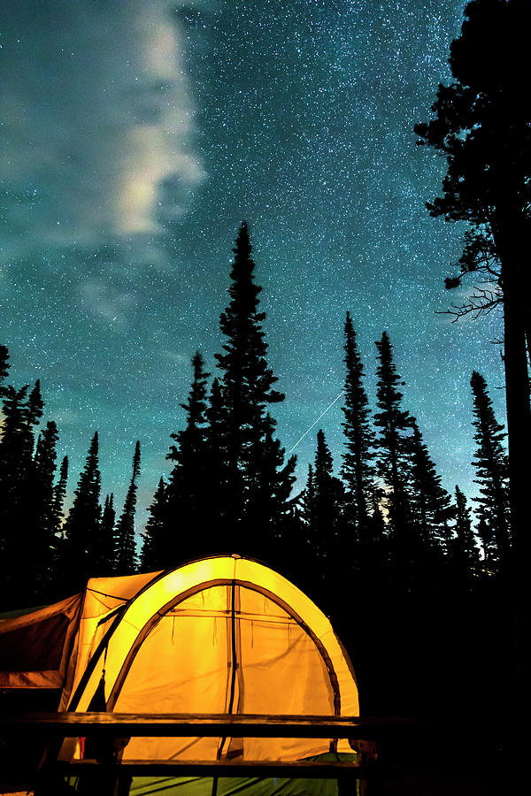 Star Camping Photograph