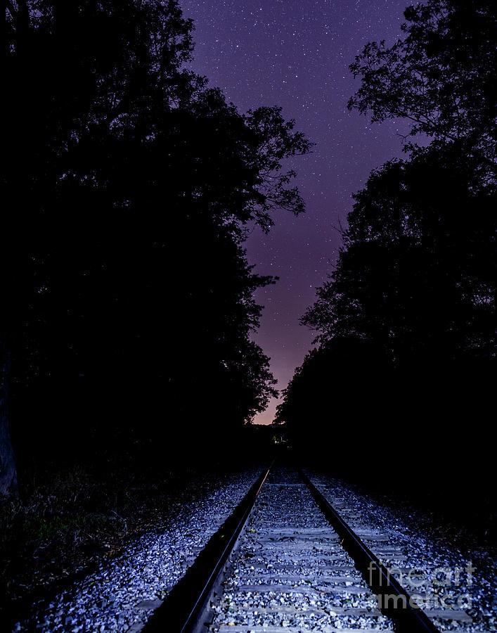 Star Tracks Photograph