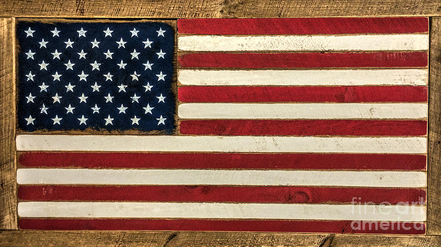 Stars And Stripes Photograph