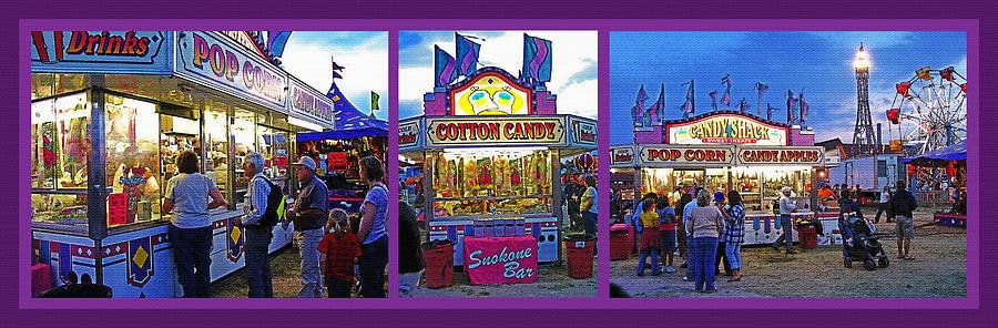 Fair Photograph - State Fair Triptych by Steve Ohlsen
