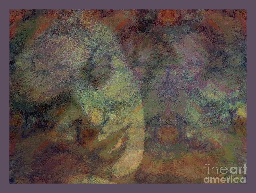 Digital Art Painting - State Of Love by Moustafa Al-Hatter