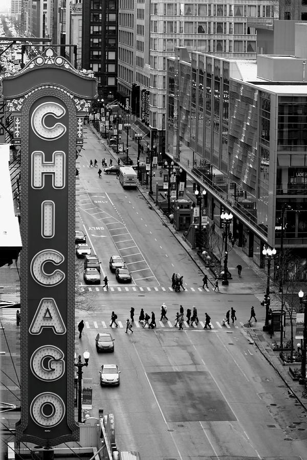 Chicago Photograph - State Street by Lauri Novak